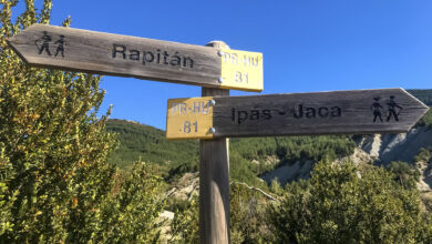 Photo of Jaca – Bergosa – Ipas – Rapitan